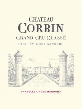 Château Corbin 2016 Caisse bois d'origine de 6 bouteilles (6x75cl)