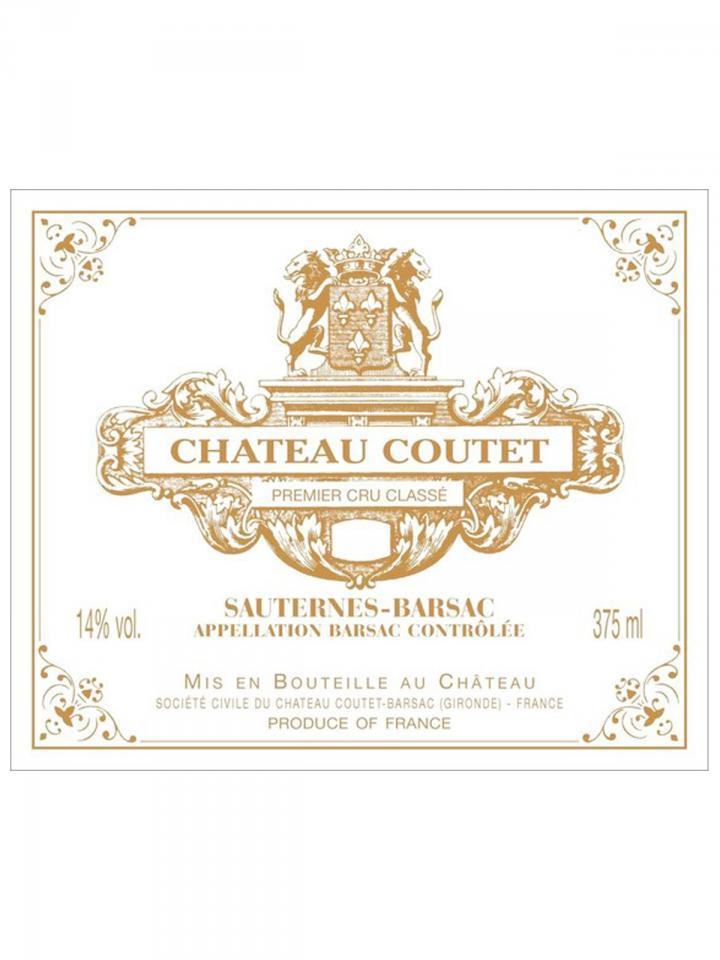 Château Coutet 2010 Caisse bois d'origine de 12 bouteilles (12x75cl)