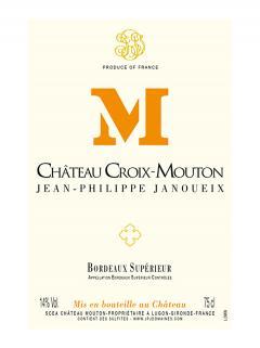 Château Croix-Mouton 2016 Caisse bois d'origine de 6 bouteilles (6x75cl)