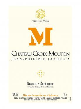 Château Croix-Mouton 2017 Caisse bois d'origine de 6 bouteilles (6x75cl)