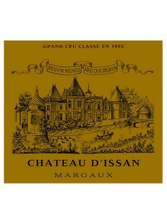 Château d'Issan 2014 Caisse bois d'origine de 3 magnums (3x150cl)