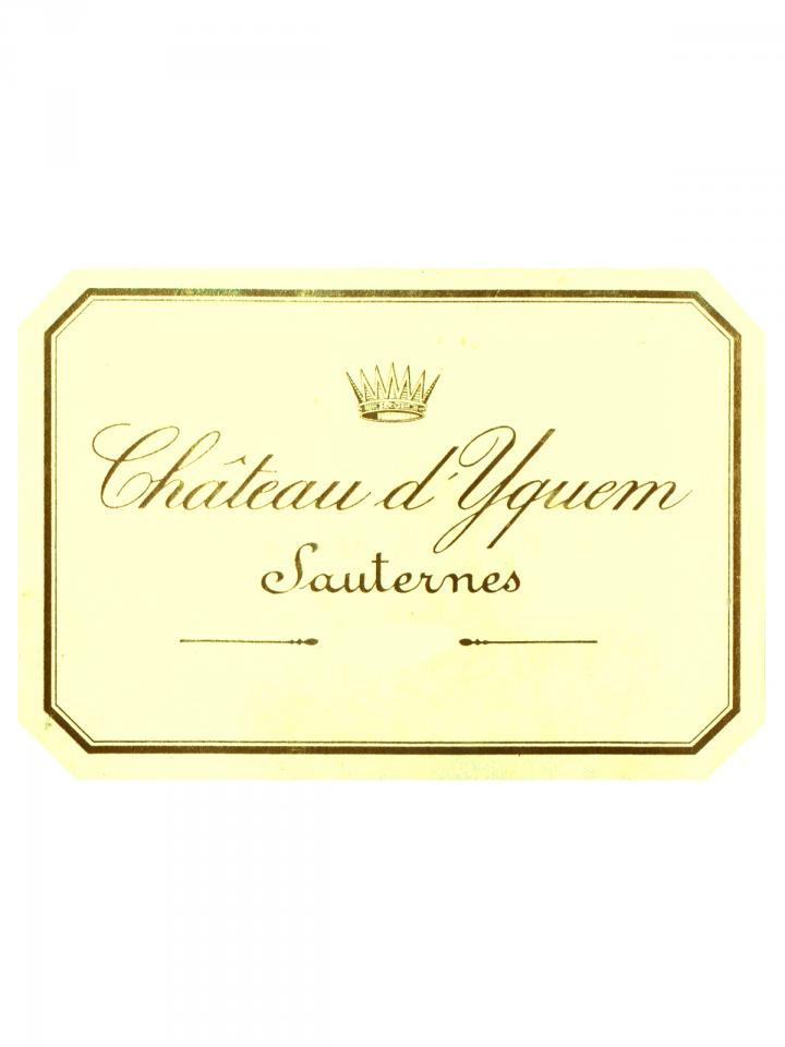 Château d'Yquem 2003 Caisse bois d'origine de 12 bouteilles (12x75cl)