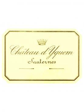 Château d'Yquem 2007 Caisse bois d'origine de 12 demi bouteilles (12x37.5cl)