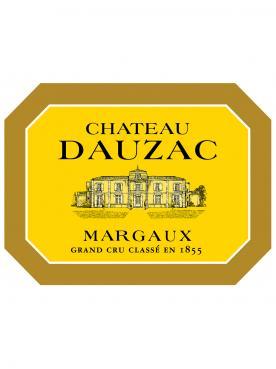 Château Dauzac 1981 Caisse bois d'origine d'une impériale (1x600cl)