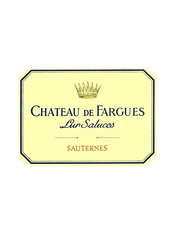 Château de Fargues 2002 Caisse bois d'origine de 12 bouteilles (12x75cl)