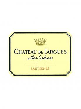 Château de Fargues 2011 Caisse bois d'origine de 6 bouteilles (6x75cl)