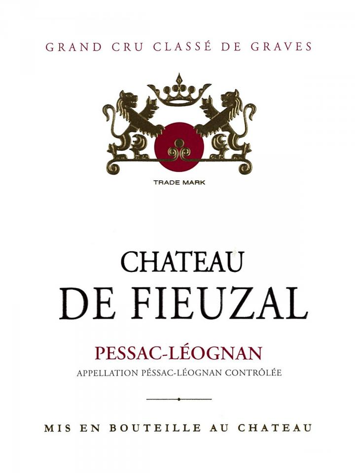 Château de Fieuzal 1998 Caisse bois d'origine de 12 bouteilles (12x75cl)