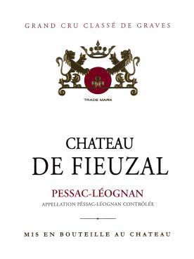 Château de Fieuzal 2016 Caisse bois d'origine de 12 bouteilles (12x75cl)
