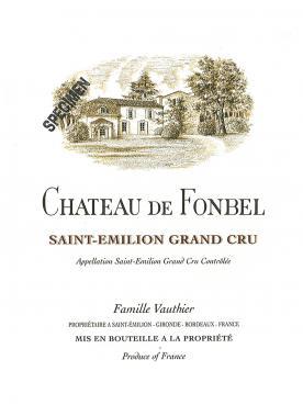 Château de Fonbel 2015 Bouteille (75cl)