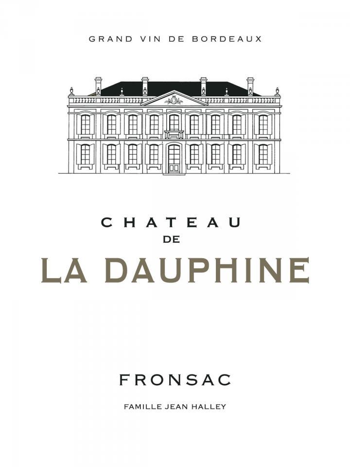Château de la Dauphine 2013 Caisse bois d'origine de 12 bouteilles (12x75cl)