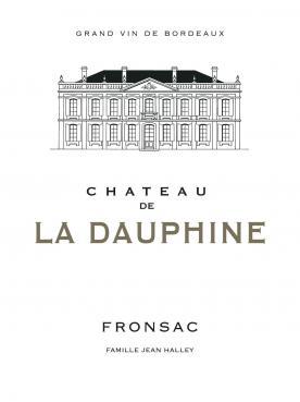 Château de la Dauphine 2018 Caisse bois d'origine de 12 bouteilles (12x75cl)