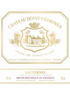 Château Doisy-Vedrines 2016 Caisse bois d'origine de 12 bouteilles (12x75cl)