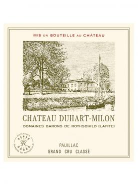 Château Duhart-Milon 2015 Caisse bois d'origine de 12 bouteilles (12x75cl)