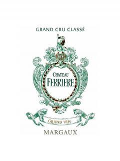 Château Ferrière 2014 Caisse bois d'origine de 12 bouteilles (12x75cl)