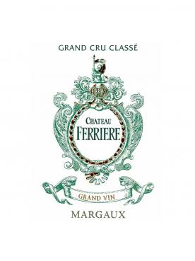 Château Ferrière 2016 Caisse bois d'origine de 6 bouteilles (6x75cl)