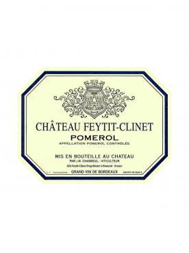 Château Feytit-Clinet 2013 Caisse bois d'origine de 6 bouteilles (6x75cl)