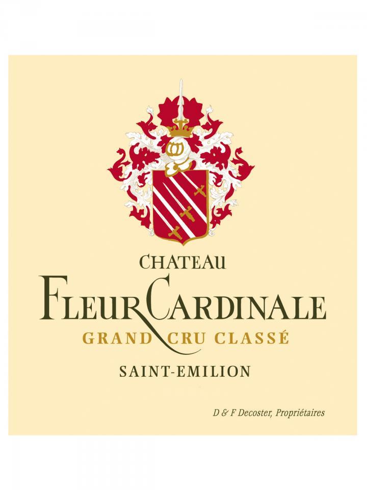 Château Fleur Cardinale 2015 Caisse bois d'origine de 12 bouteilles (12x75cl)