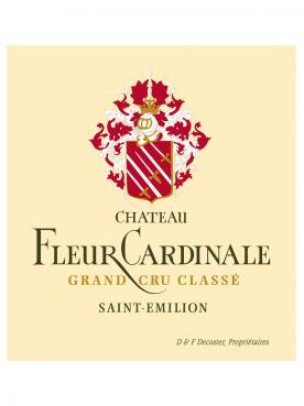 Château Fleur Cardinale 2014 Caisse bois d'origine de 6 bouteilles (6x75cl)