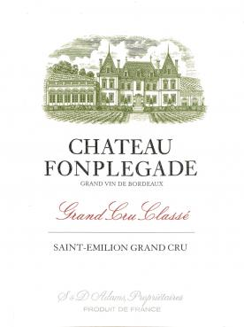 Château Fonplégade 2013 Caisse bois d'origine de 12 bouteilles (12x75cl)
