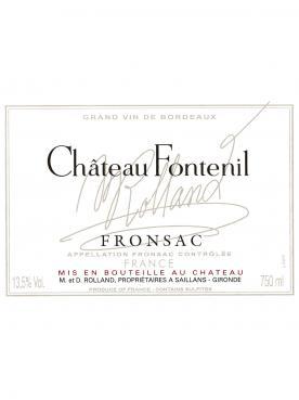 Château Fontenil 2016 6 bouteilles (6x75cl)