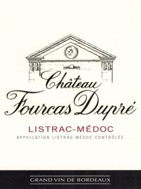 Château Fourcas Dupré 2015 Caisse bois d'origine de 12 bouteilles (12x75cl)