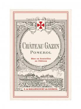 Château Gazin 2017 Caisse bois d'origine de 6 bouteilles (6x75cl)