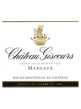 Château Giscours 2016 Caisse bois d'origine de 6 bouteilles (6x75cl)