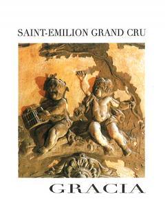 Château Gracia 2015 Caisse bois d'origine de 12 bouteilles (12x75cl)