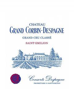 Château Grand Corbin-Despagne 2013 Caisse bois d'origine de 12 bouteilles (12x75cl)