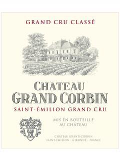 Château Grand Corbin 1988 Bouteille (75cl)