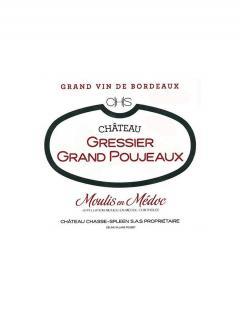 Château Gressier Grand Poujeaux 2011 Caisse bois d'origine de 12 bouteilles (12x75cl)