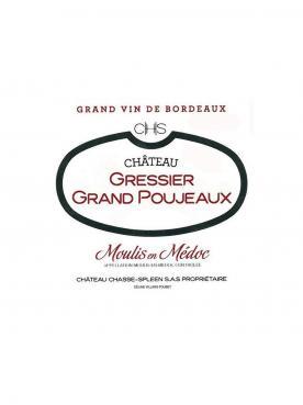 Château Gressier Grand Poujeaux 1961 Bouteille (75cl)