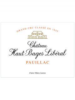 Château Haut-Bages Libéral 1995 Caisse bois d'origine de 12 bouteilles (12x75cl)