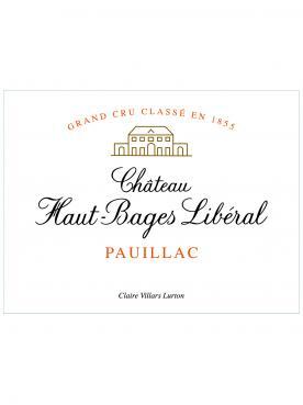 Château Haut-Bages Libéral 2017 Caisse bois d'origine de 6 bouteilles (6x75cl)