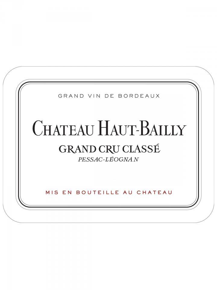 Château Haut-Bailly 2013 Caisse bois d'origine de 12 bouteilles (12x75cl)