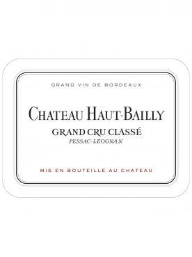 Château Haut-Bailly 2010 Caisse bois d'origine de 6 bouteilles (6x75cl)