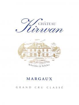 Château Kirwan 2015 Caisse bois d'origine de 12 bouteilles (12x75cl)