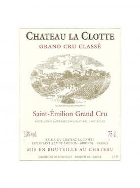 Château La Clotte 2015 Caisse bois d'origine de 12 bouteilles (12x75cl)