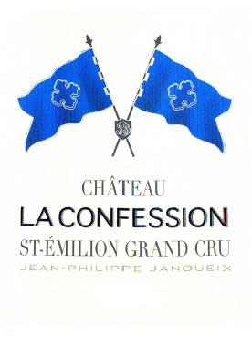 Château La Confession 2016 Caisse bois d'origine de 12 bouteilles (12x75cl)
