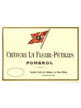 Château La Fleur-Pétrus 2018 Caisse bois d'origine de 6 bouteilles (6x75cl)