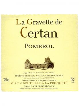 Château La Gravette de Certan 2016 Caisse bois d'origine de 12 bouteilles (12x75cl)