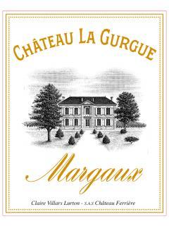 Château La Gurgue 2015 12 bouteilles (12x75cl)