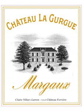Château La Gurgue 2019 6 bouteilles (6x75cl)