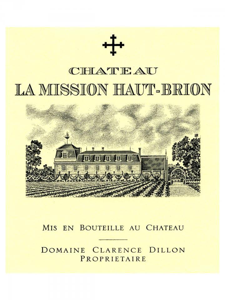 Château La Mission Haut-Brion 1996 Caisse bois d'origine de 12 bouteilles (12x75cl)