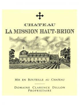 Château La Mission Haut-Brion 2002 Caisse bois d'origine de 6 bouteilles (6x75cl)