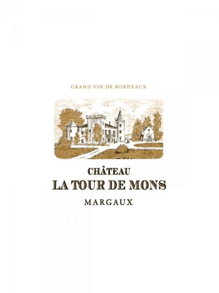 Château La Tour de Mons 2013 Caisse bois d'origine de 12 bouteilles (12x75cl)