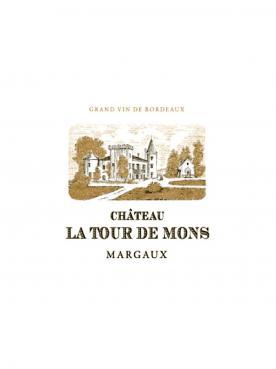 Château La Tour de Mons 2015 Caisse bois d'origine de 12 bouteilles (12x75cl)
