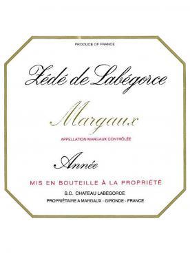 Château Labégorce Zédé 1981 6 bouteilles (6x75cl)