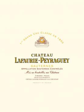 Château Lafaurie-Peyraguey 2001 Caisse bois d'origine de 12 bouteilles (12x75cl)