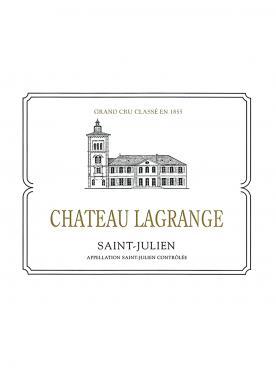 Château Lagrange (Saint Julien) 1996 Caisse bois d'origine de 12 bouteilles (12x75cl)